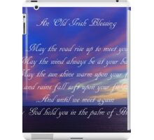 An Old Irish Blessing #3 iPad Case/Skin