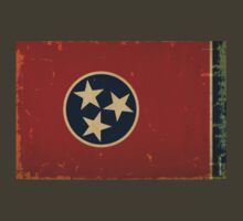Tennessee State Flag VINTAGE T-Shirt