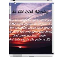 Old Irish Blessing #4 iPad Case/Skin