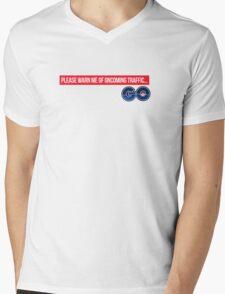 Oncoming Traffic 2 - Pokemon GO Mens V-Neck T-Shirt