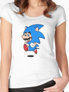 Super Hedgehog Women's Fitted Scoop T-Shirt