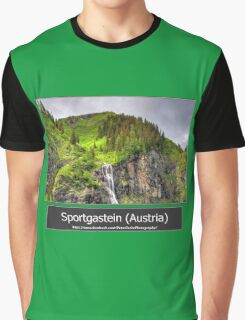 Summer trip to Bad Gastein, Austria Graphic T-Shirt
