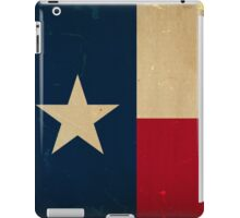 Texas State Flag VINTAGE iPad Case/Skin