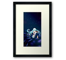 She will always watch over him Framed Print