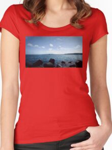 harbor 2 Women's Fitted Scoop T-Shirt
