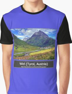 Summer trip to Tyrol, Austria Graphic T-Shirt
