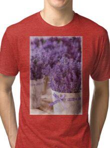 Lavender Tri-blend T-Shirt