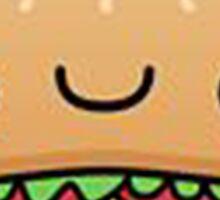 Kawaii Hamburger Sticker