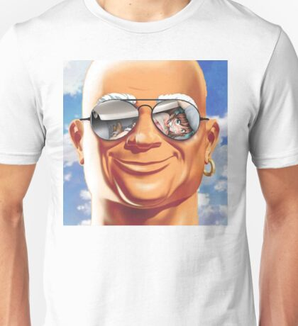 Mr. Clean loves to clean Unisex T-Shirt