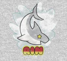 Rin Shark tee One Piece - Long Sleeve
