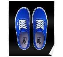 Vans - Blue Poster