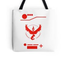 Team Valor - Pokedex Style Tote Bag