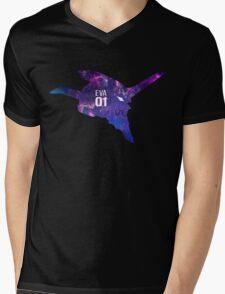 Galaxy Eva 01 Mens V-Neck T-Shirt