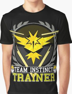 Team Instinct - Pokemon Go Graphic T-Shirt