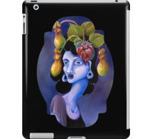 Pitcher Plant - Surreal Weird Art by Ela Steel iPad Case/Skin