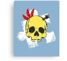Mumbo Skull Canvas Print