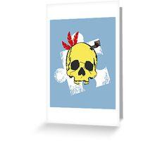Mumbo Skull Greeting Card