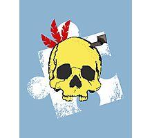 Mumbo Skull Photographic Print