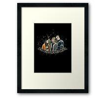Best Dead Friends Forever || In The Flesh Framed Print