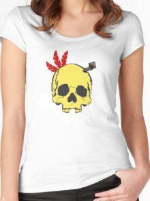 Mumbo Skull Women's Fitted Scoop T-Shirt