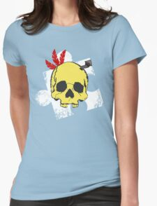 Mumbo Skull Womens Fitted T-Shirt