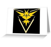 Allegiance - Team Instinct Greeting Card