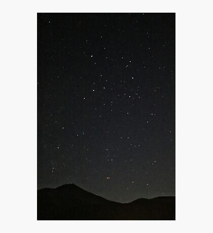 Starry Night (in Crested Butte) Photographic Print