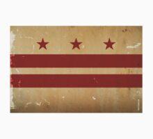 Washington DC Flag VINTAGE Kids Clothes
