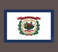 West Virginia State Flag Kids Clothes