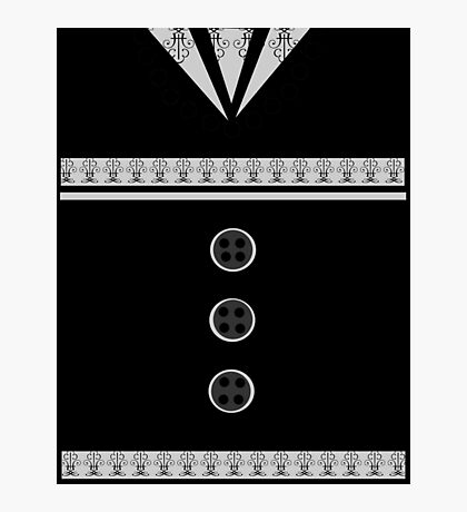 Ediemagic Tuxedo Photographic Print