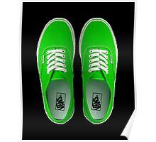 Vans - Green Poster
