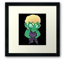 Young Avengers || Hulkling Framed Print