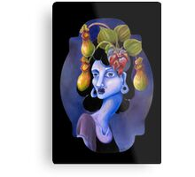 Pitcher Plant - Surreal Weird Art by Ela Steel Metal Print