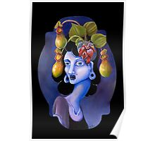 Pitcher Plant - Surreal Weird Art by Ela Steel Poster