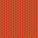 Geometric Hexagons by Artberry