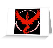 Allegiance - Team Valor Greeting Card