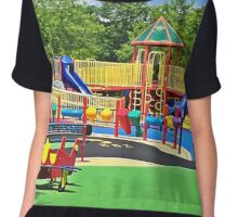Rainbow Playground 2 Chiffon Top