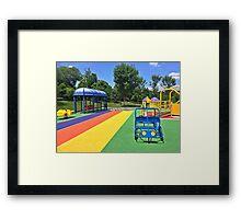 Rainbow Playground 3 Framed Print