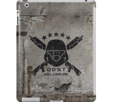 ODST Helljumpers (Black Scratched) iPad Case/Skin