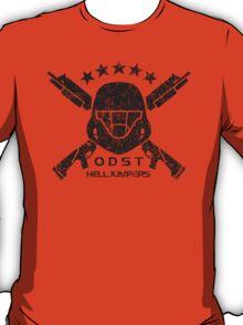 ODST Helljumpers (Black Scratched) T-Shirt