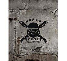 ODST Helljumpers (Black) Photographic Print