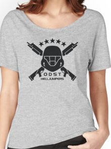 ODST Helljumpers (Black) Women's Relaxed Fit T-Shirt