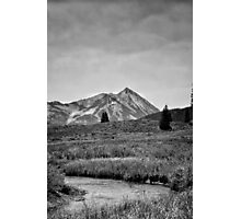 Ruby Range in Black and White #2 Photographic Print