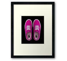 Vans - Pink Framed Print