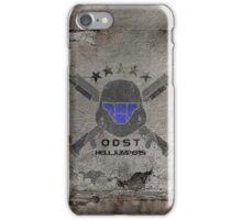 ODST Helljumpers (Color Distressed) iPhone Case/Skin