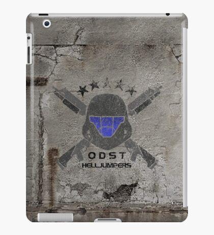 ODST Helljumpers (Color Distressed) iPad Case/Skin