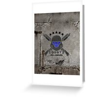 ODST Helljumpers (Color) Greeting Card