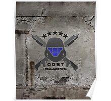 ODST Helljumpers (Color) Poster