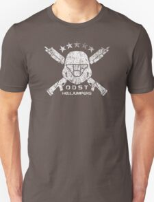 ODST Helljumpers (White Distressed) Unisex T-Shirt