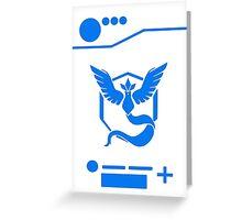 Team Mystic - Pokedex Style Greeting Card